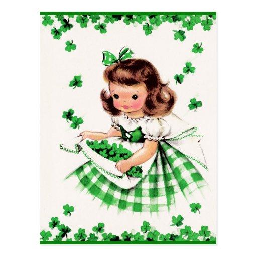 St. Patrick's Day Customizable Postcards