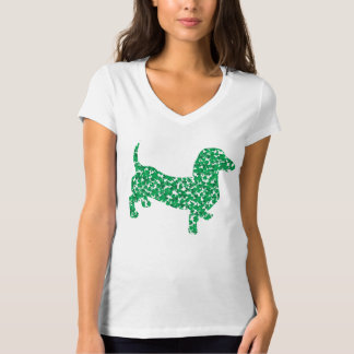 St. Patrick's Day Dachshund Doxie T-Shirt
