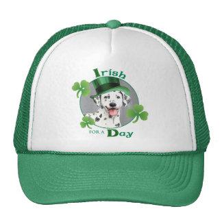 St. Patrick's Day Dalmatian Trucker Hat