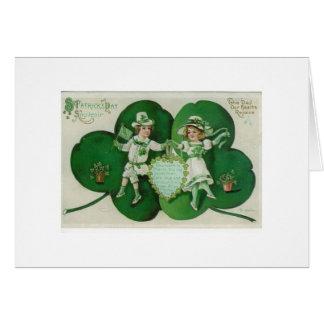 St. Patrick's Day Dance Card