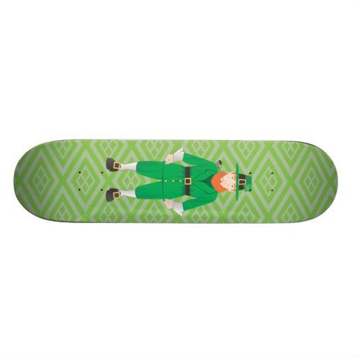St Patricks Day Design Skateboards