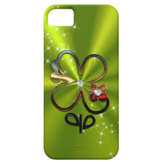 ST PATRICK'S DAY Diamond Shamrock Monogram iPhone 5 Case