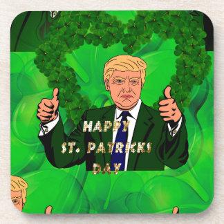 st patricks day donald trump coaster