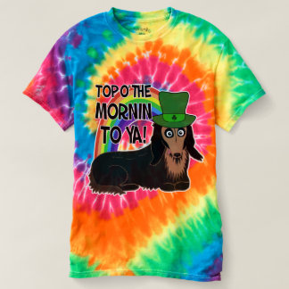 St. Patrick's Day Doxie Tees