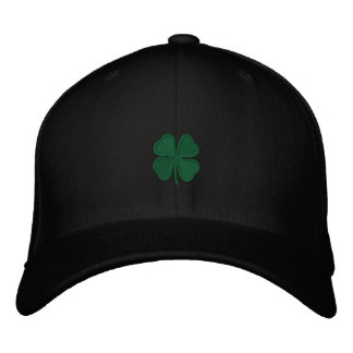 St. Patrick's Day Embroidered Clover Men's Cap Embroidered Hats