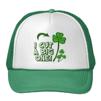 St Patrick's Day Farting Humor Trucker Hat