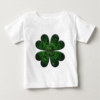 St. Patrick's Day Four Leaf Clover/Shamrock Celtic Baby T-Shirt