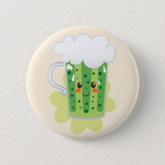 St. Patrick's Day Fresh Beer 2 Inch Round Button