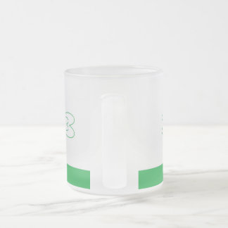 St. Patrick's Day  Frosted 10 oz Frosted Glass Mug