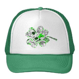 St. Patrick's Day - Fun Word Art Trucker Hat