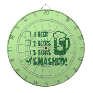 St Patrick's Day Funny Beer Drinking Dartboard