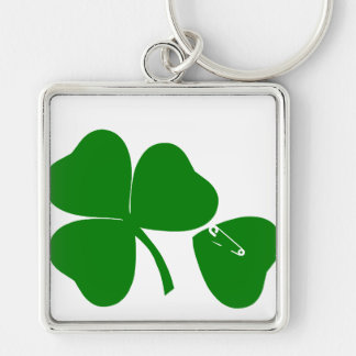 St Patrick's Day - Get Lucky 3+1 = 4 Key Chains