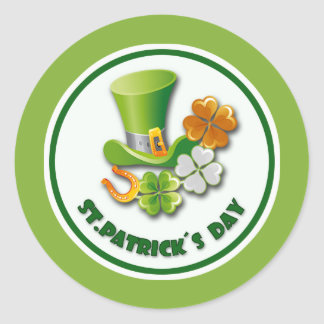 St. Patrick's Day Gift Stickers Sticker