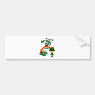 St Patrick's Day gifts Bumper Sticker