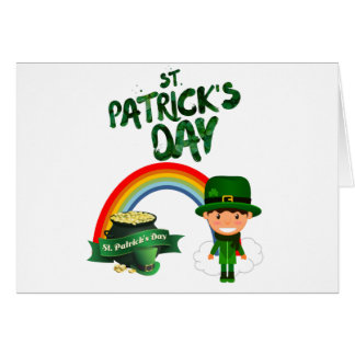 St Patrick's Day gifts Card