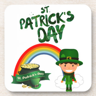 St Patrick's Day gifts Coaster