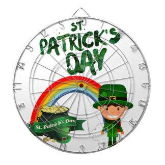 St Patrick's Day gifts Dartboard
