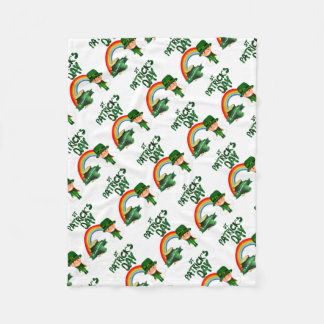 St Patrick's Day gifts Fleece Blanket