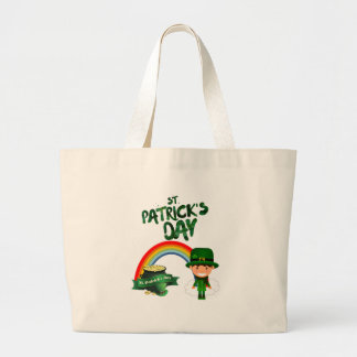 St Patrick's Day gifts Large Tote Bag