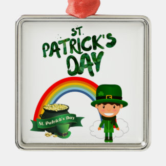 St Patrick's Day gifts Metal Ornament