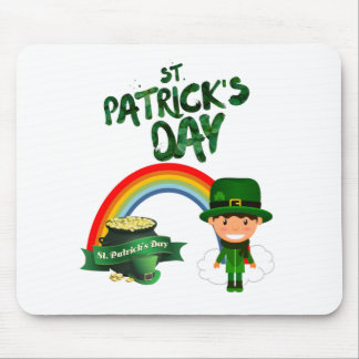 St Patrick's Day gifts Mouse Pad