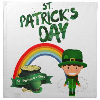 St Patrick's Day gifts Napkin