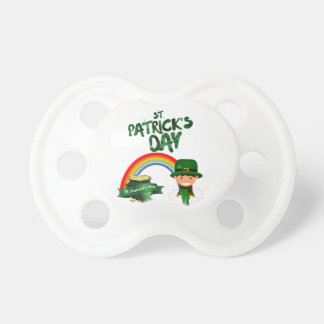 St Patrick's Day gifts Pacifier