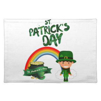 St Patrick's Day gifts Placemat