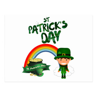 St Patrick's Day gifts Postcard