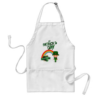 St Patrick's Day gifts Standard Apron