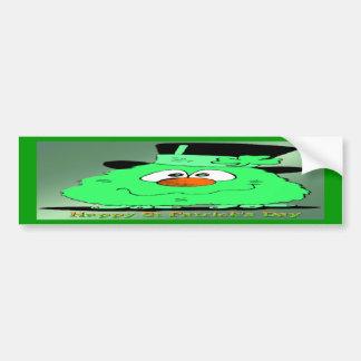 St Patrick's Day Gnome Bumper Sticker
