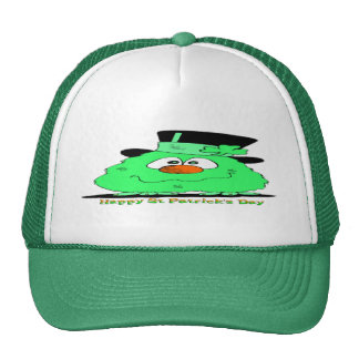 St Patrick's Day Gnome Trucker Hat