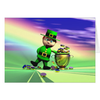 St. Patrick's Day Gold Fever Card