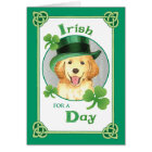 St. Patrick's Day Golden Card