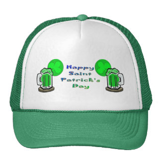 St Patrick's Day Green Beer 2 Trucker Hat
