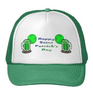 St Patrick's Day Green Beer 2 Trucker Hat