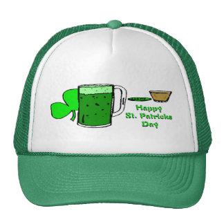 St Patrick's Day Green Beer 3 Trucker Hat
