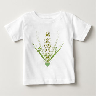 St. Patrick's Day Green Heart Art Baby T-Shirt