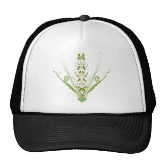 St. Patrick's Day Green Heart Art Mesh Hat