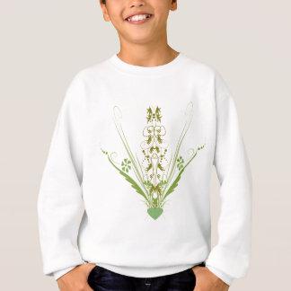 St. Patrick's Day Green Heart Art Tee Shirt