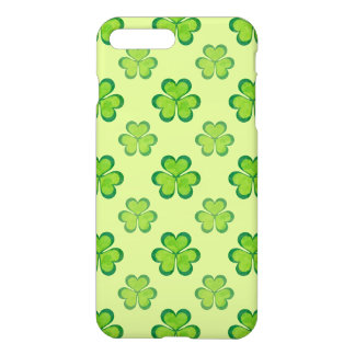St. Patrick's Day Green Shamrocks Lucky Clovers iPhone 8 Plus/7 Plus Case