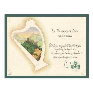 St. Patrick's Day Greeting Postcard
