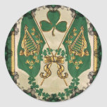 St. Patrick's Day Greeting Sticker