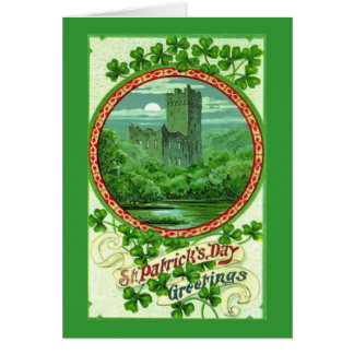 St Patrick's Day greetings Card