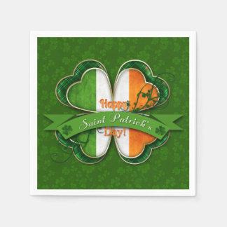 St. Patrick's Day - Happy St. Patrick's Day Disposable Napkin