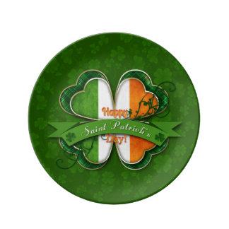St. Patrick's Day - Happy St. Patrick's Day Plate