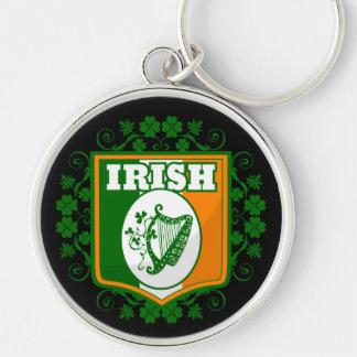St Patrick's Day Harp Keychain