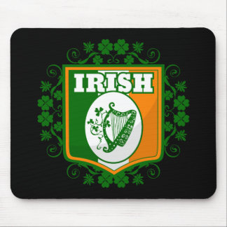 St Patrick's Day Harp Mouse Pad