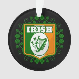 St Patrick's Day Harp Ornament