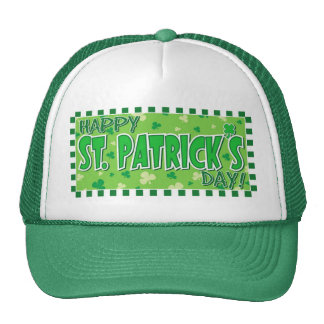 St. Patrick's Day Mesh Hat